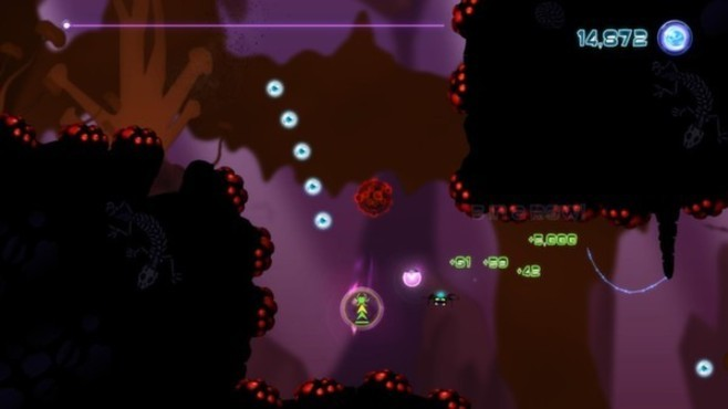 Alien Spidy: Between a Rock and a Hard Place DLC Screenshot 2