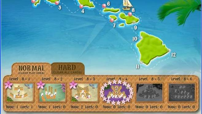 Aloha Solitaire Screenshot 1