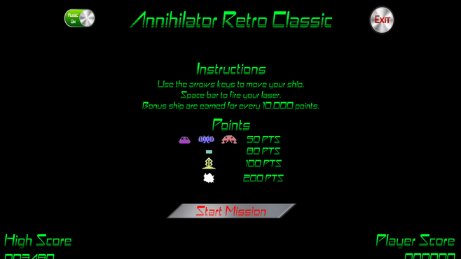 Annihilator Retro Classic Screenshot 1