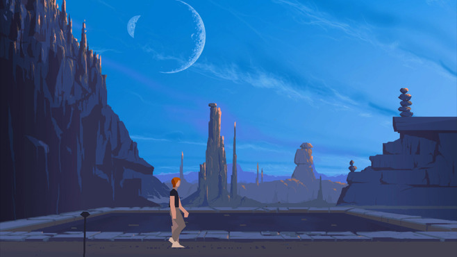 Another World - 20th Anniversary Edition Screenshot 1