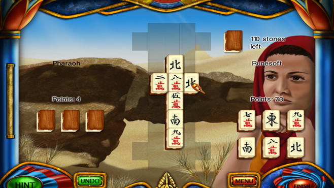 Art Mahjongg Egypt Screenshot 1