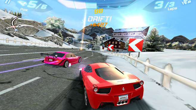 Asphalt 6: Adrenaline Screenshot 1