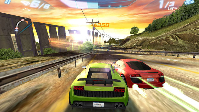 Asphalt 6: Adrenaline Screenshot 4