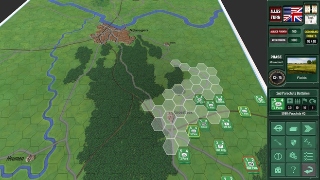 Assault on Arnhem Screenshot 2