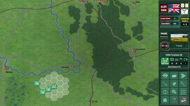 Assault on Arnhem Screenshot 4