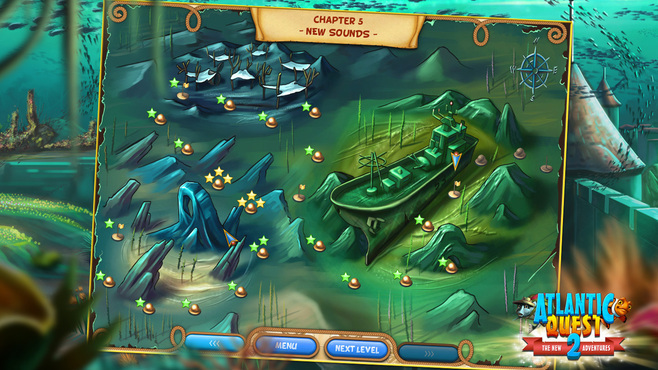 Atlantic Quest 2: The New Adventures Screenshot 1