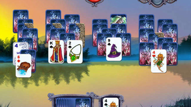 Avalon Legends Solitaire Screenshot 3
