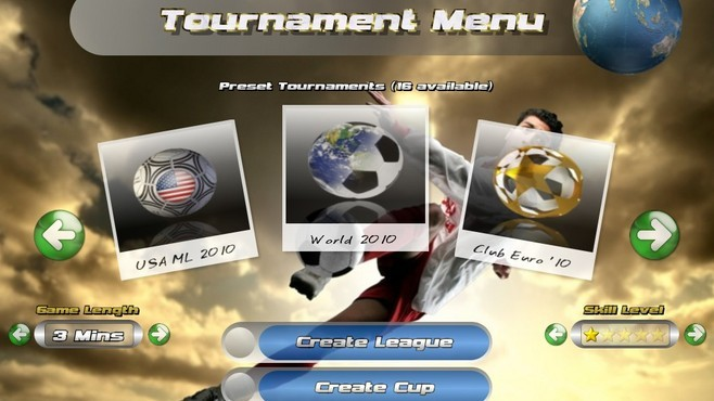 Awesome Soccer World 2010 Screenshot 1