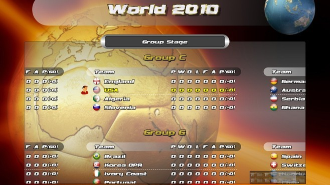 Awesome Soccer World 2010 Screenshot 2