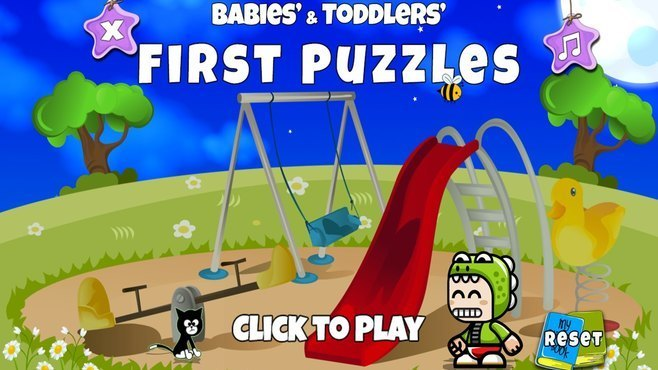 Babies and Toddlers First Puzzles Screenshot 1