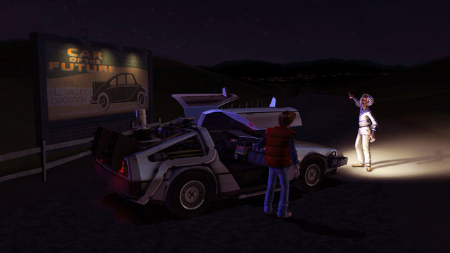 Back to the Future: The Game Screenshot 1