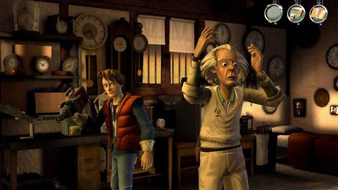Back to the Future: The Game Screenshot 2