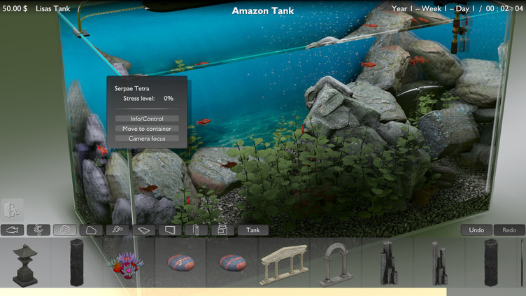 Biotope Aquarium Simulator Screenshot 7