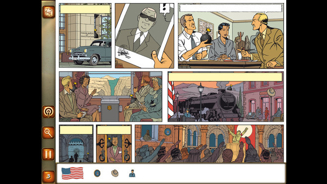 Blake and Mortimer : The Curse Of The Thirty Denarii Screenshot 1