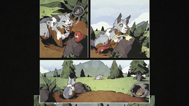 Blossom: A Meadow comic book Screenshot 2