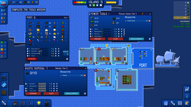 Blueprint Tycoon Screenshot 2