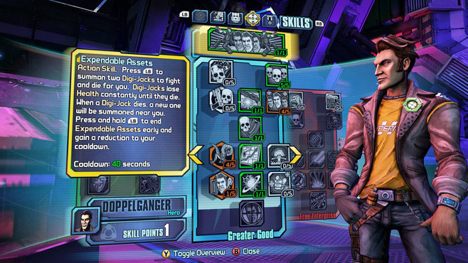 Borderlands: The Pre-Sequel: Handsome Jack Doppelganger Pack Screenshot 2