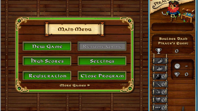 Boulder Dash - Pirate's Quest Screenshot 3