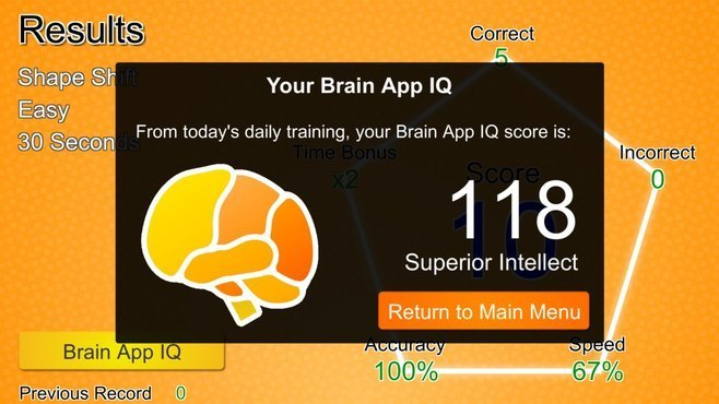 Brain App - Daily Brain Training Screenshot 10