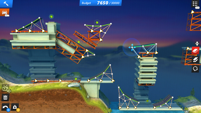 Bridge Constructor Stunts Screenshot 2