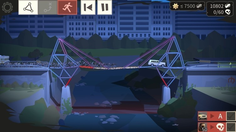 Bridge Constructor: The Walking Dead Screenshot 4