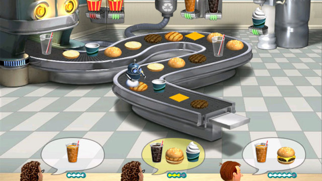 Burger Shop Screenshot 2