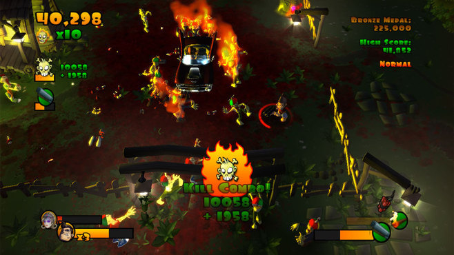 Burn Zombie Burn Screenshot 1