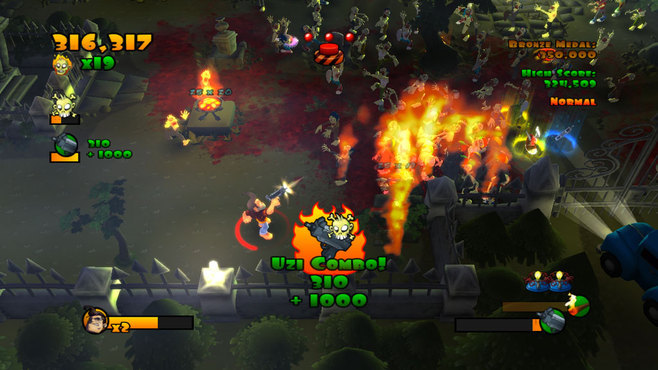 Burn Zombie Burn Screenshot 2