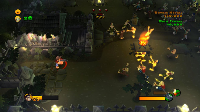 Burn Zombie Burn Screenshot 3