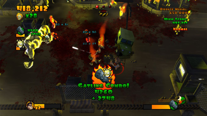 Burn Zombie Burn Screenshot 5