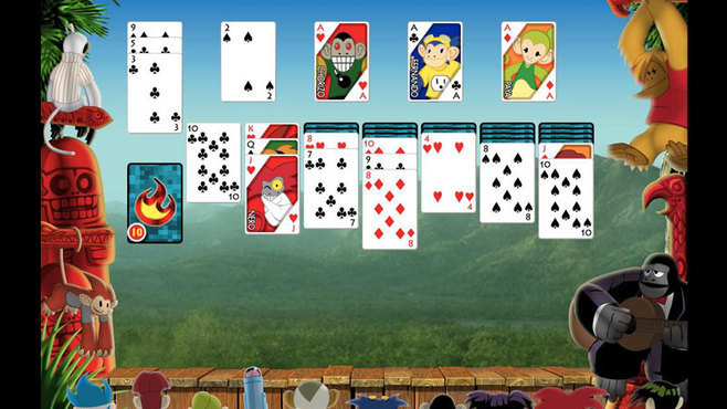 Burning Monkey Solitaire 4 Screenshot 1
