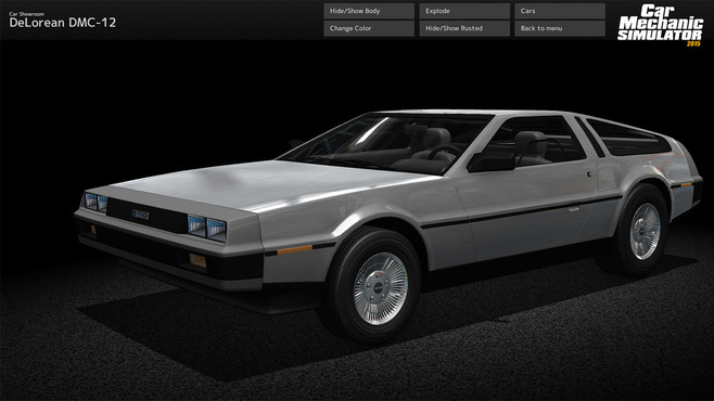 Car Mechanic Simulator 2015 - DeLorean Screenshot 1