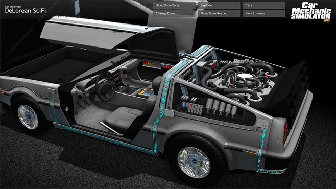 Car Mechanic Simulator 2015 - DeLorean Screenshot 3
