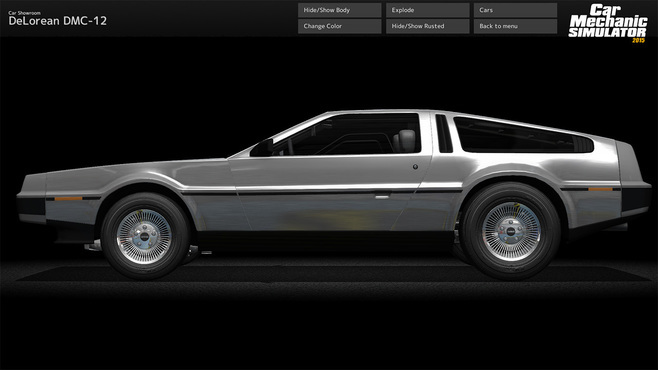 Car Mechanic Simulator 2015 - DeLorean Screenshot 6