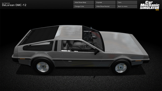 Car Mechanic Simulator 2015 - DeLorean Screenshot 9