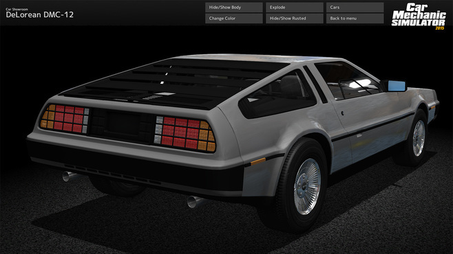 Car Mechanic Simulator 2015 - DeLorean Screenshot 10