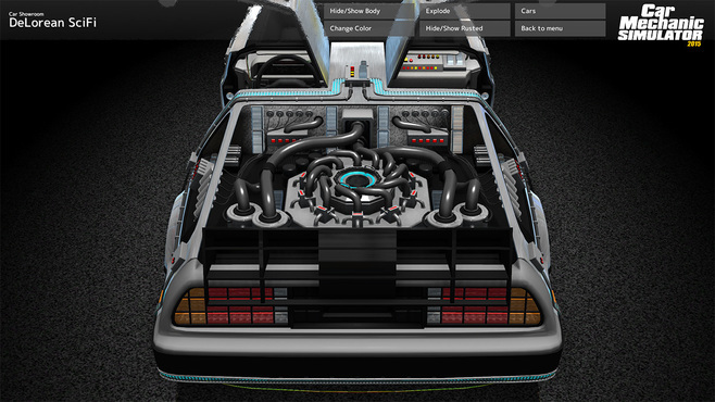 Car Mechanic Simulator 2015 - DeLorean Screenshot 12