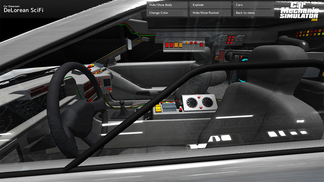 Car Mechanic Simulator 2015 - DeLorean Screenshot 13