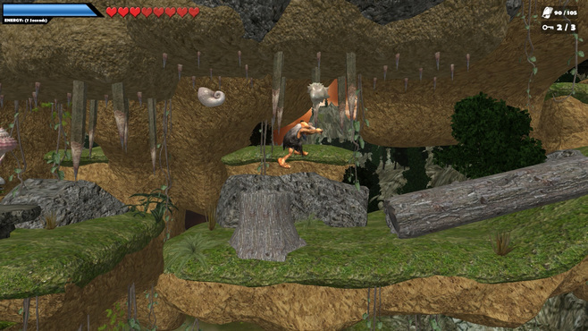 Caveman World: Mountains of Unga Boonga Screenshot 1