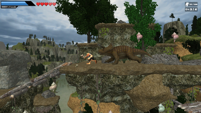 Caveman World: Mountains of Unga Boonga Screenshot 3