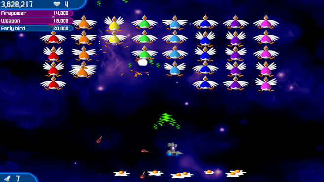 Chicken Invaders 2 Screenshot 5