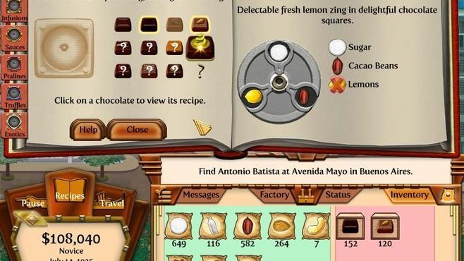 Chocolatier 2: Secret Ingredients Screenshot 5