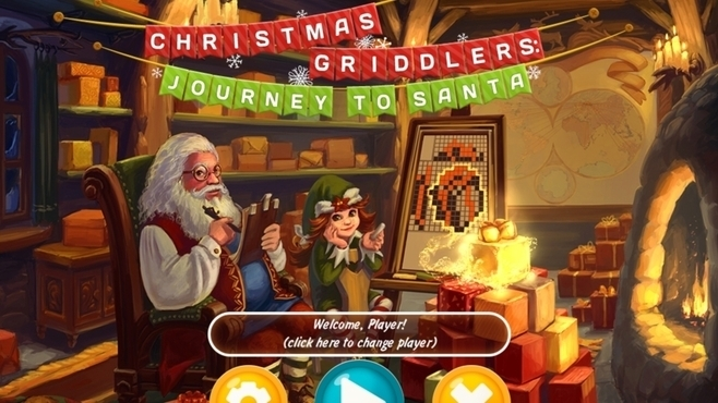 Christmas Griddlers Journey To Santa Screenshot 1
