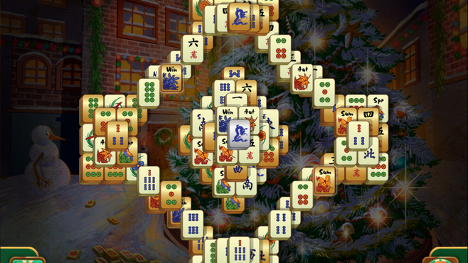 Christmas Mahjong Screenshot 1