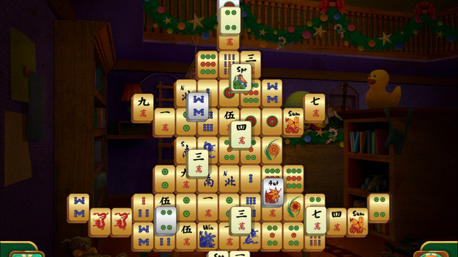 Christmas Mahjong Screenshot 2