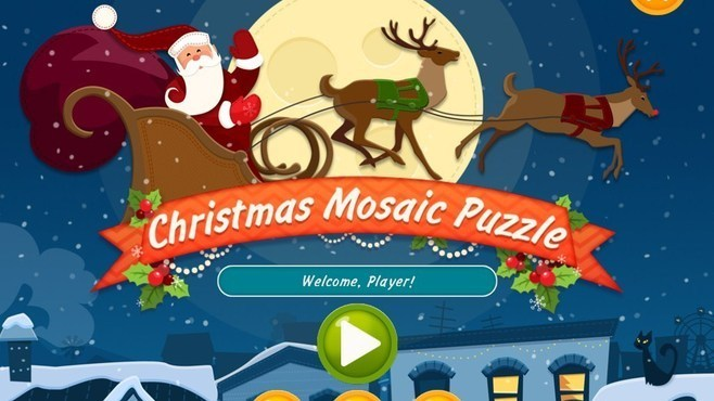 Christmas Mosaic Puzzle Screenshot 1