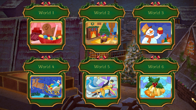 Christmas Patchwork Frozen Screenshot 3