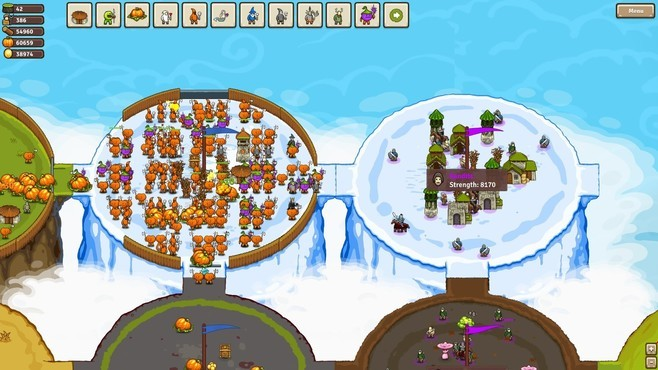 Circle Empires: Apex Monsters! Screenshot 1
