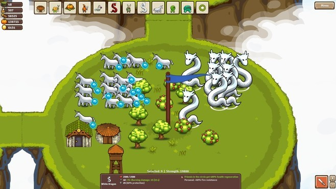 Circle Empires: Apex Monsters! Screenshot 3