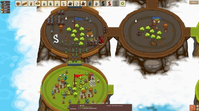 Circle Empires: Apex Monsters! Screenshot 7